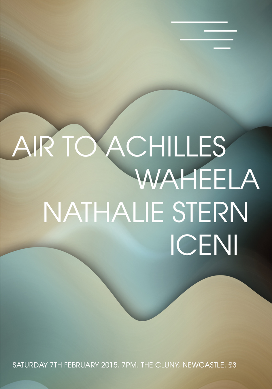 Poster design newcastle - Poster Design For Newcastle Band Air To Achilles