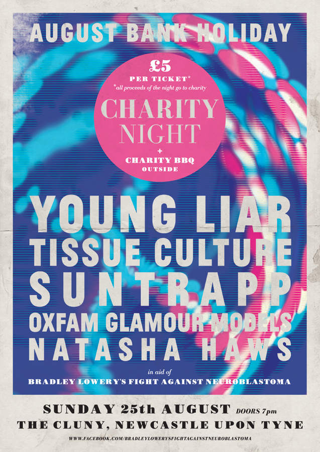 Charity event poster | Paul Burgess Graphic Design