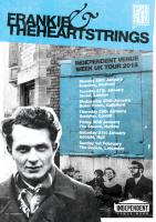 Poster design for Frankie & The Heartstrings' Independent Venue Week UK tour.