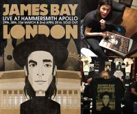 James Bay London poster