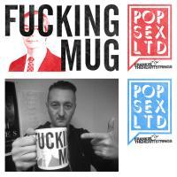 Mug designs for Sunderland band Frankie & The Heartstrings / Pop Sex Ltd.
