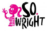 Logo design for Manchester-based DJ/radio presenter So. Wright