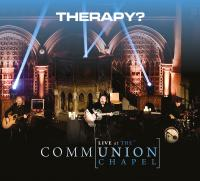 CD sleeve design for Therapy?'s forthcoming release 'Communion: Live at The Unio